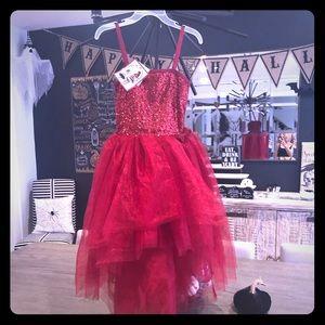 Ooh La la red Holiday dress